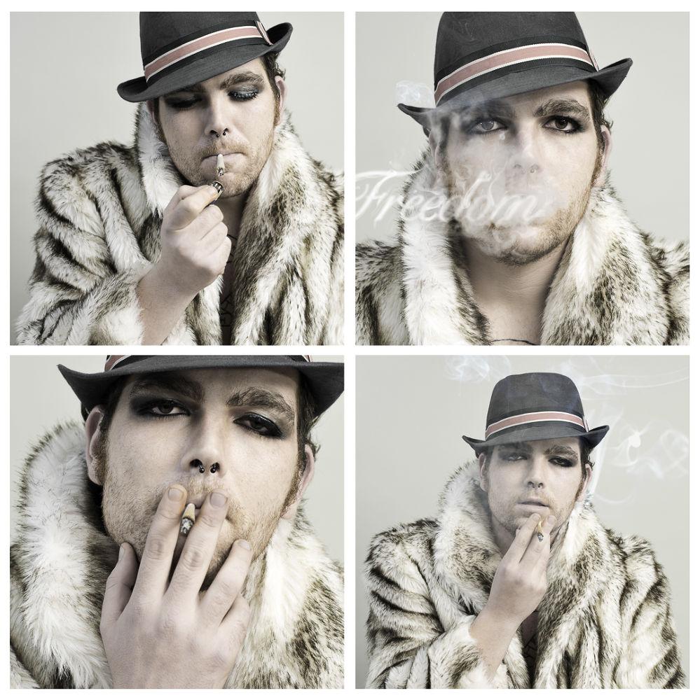 Photo in Portrait #man #boy #young #portrait #smoking #freedom #smoke #imfstudio #snuff #coat