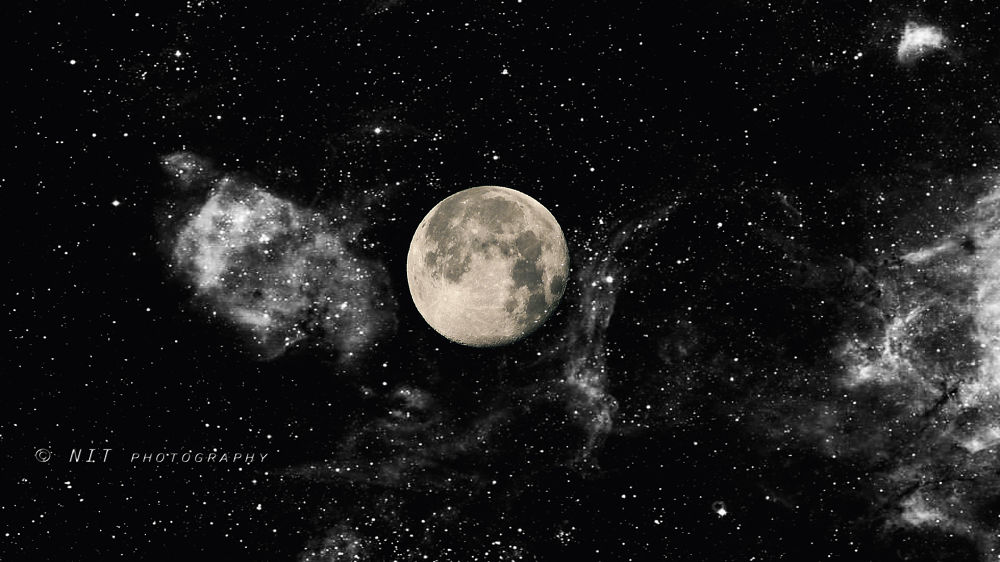 Photo in Random #moon #space #nit photography #planet #astronomy