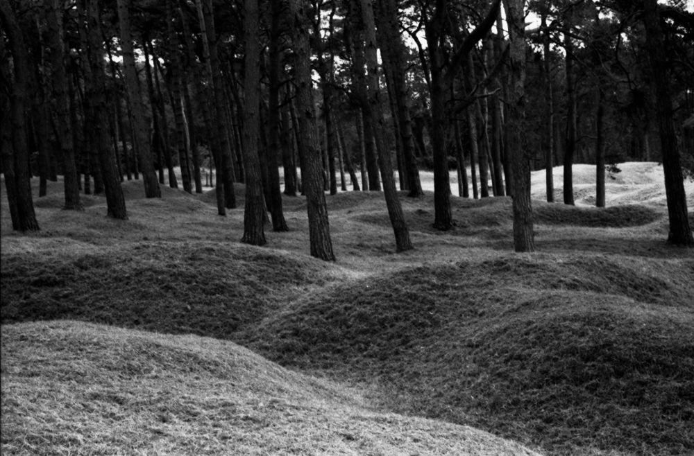 Photo in Black and White #war #ww1 #mines #leica r9 #pas de calais #nord