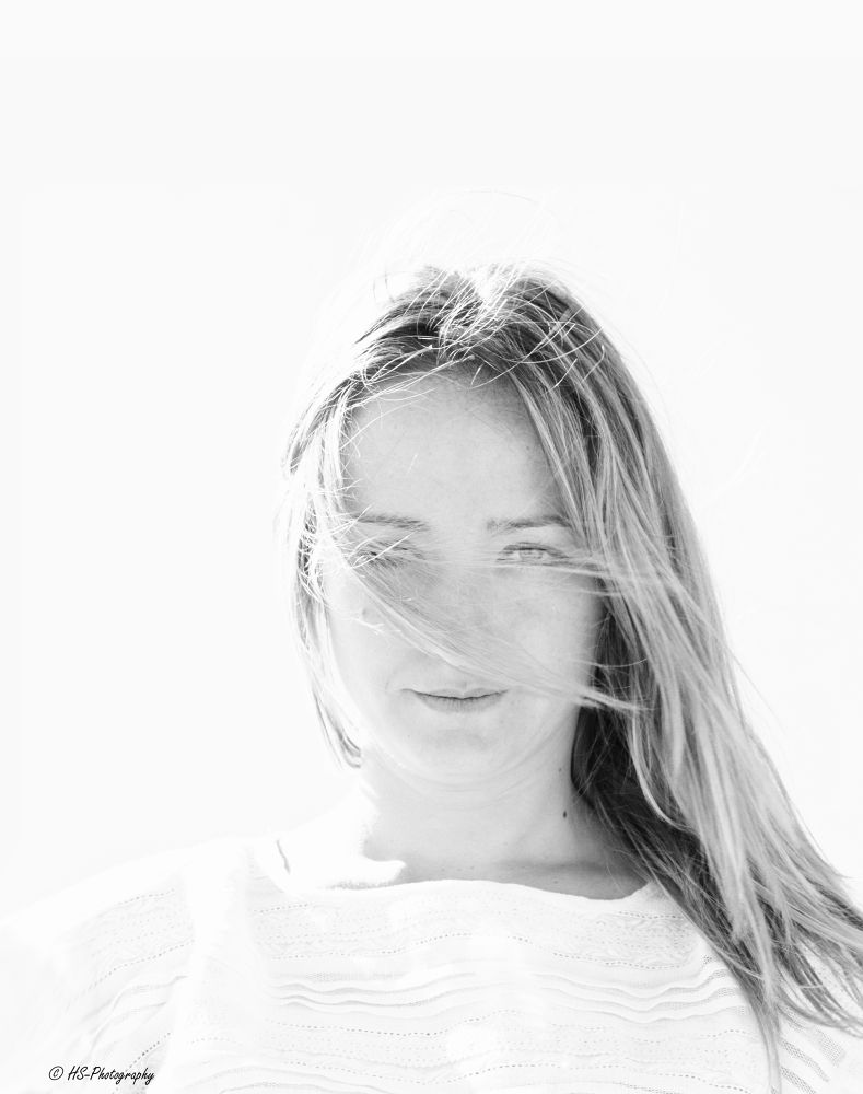 Photo in Black and White #girl #beauty #spain #portrait #black and white #denia #les deveses #sandra #costa blanca