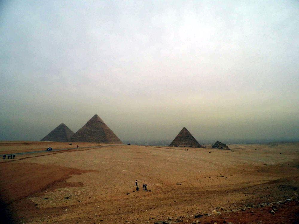 Photo in Random #giza pyramids