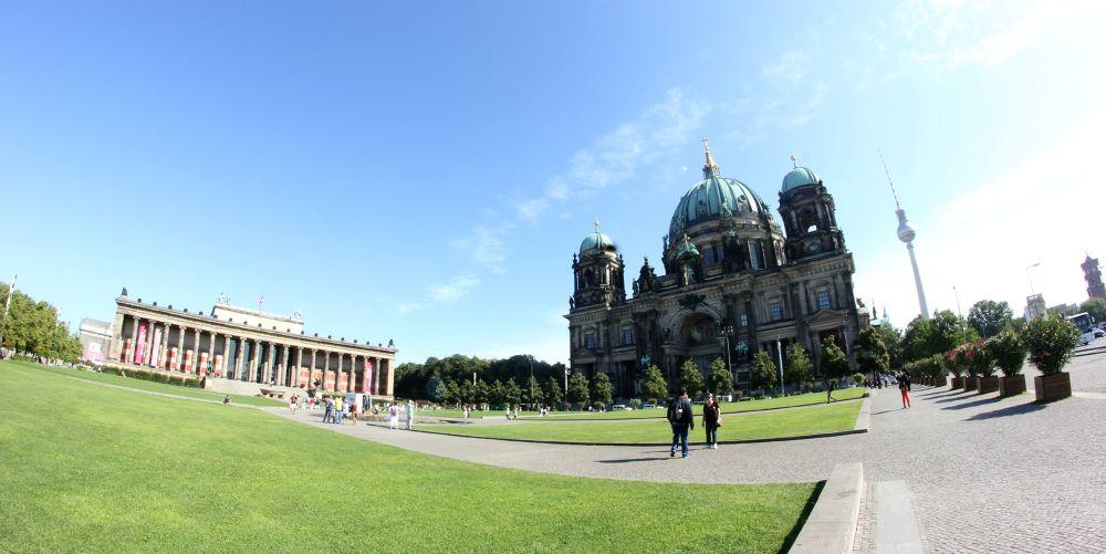 Photo in Random #berlin #church #capital #germany #fisheye #walimex