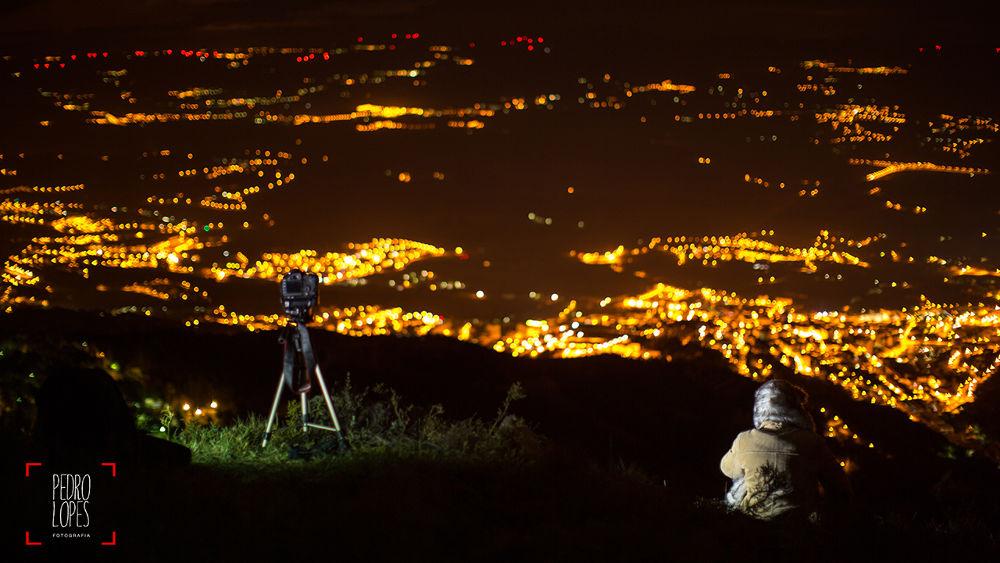 Photo in Random #night #noite #portugal #serra da estrela #pedro lopes #covilha