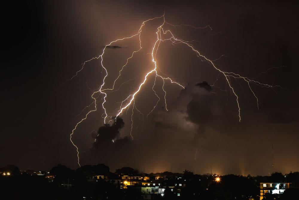 Photo in Nature #night #storm #lightning #lightning bolt #lightning bolts #stormy night