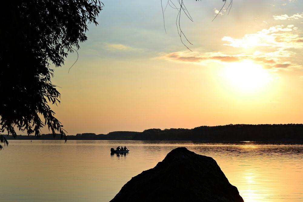 Photo in Random #river #sunset #danube