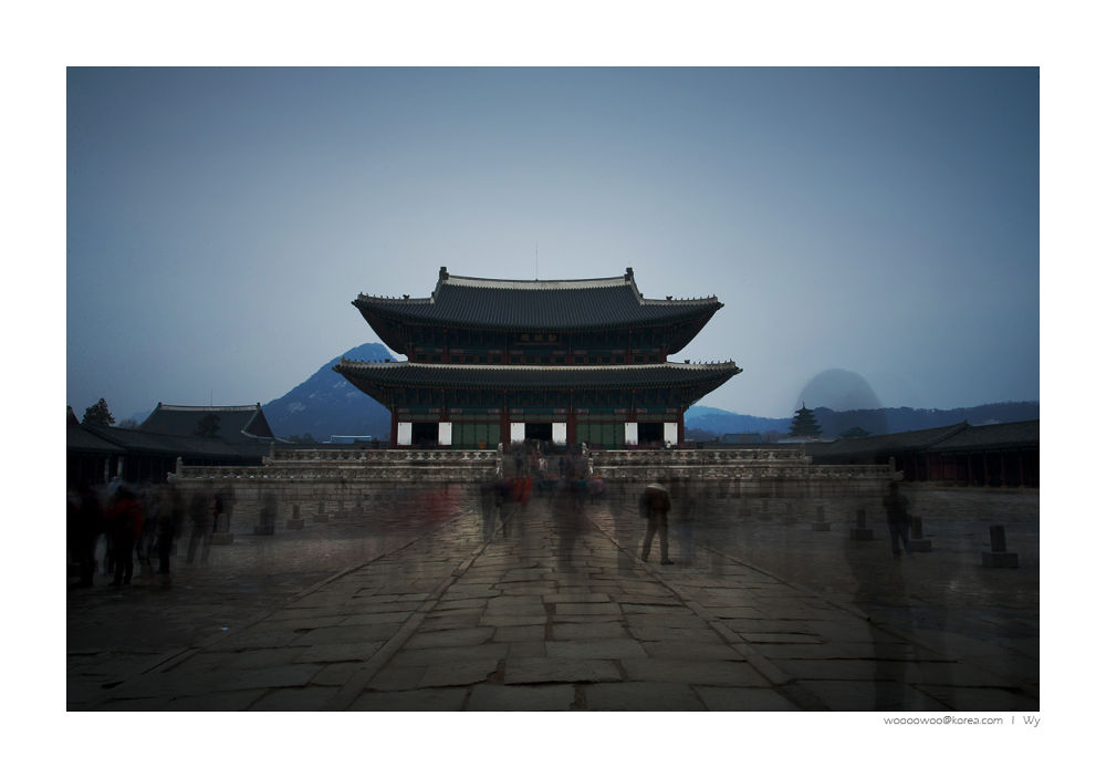 Photo in Random #seoul #kyungbokgung #gwanghwamun