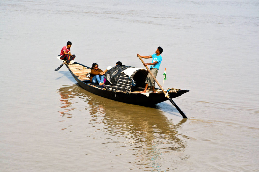 Photo in Street Photography #river #boat #people #street photography